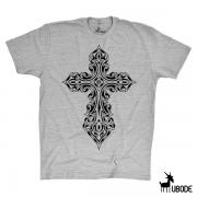 Camiseta Cruz Medieval