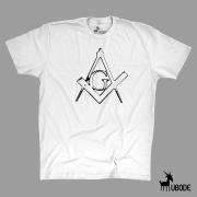 Camiseta Esquadro e Compasso contornos