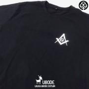 Camiseta Esquadro e Compasso Preta