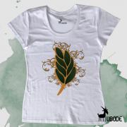 Camiseta Feminina - Flor de Acácia
