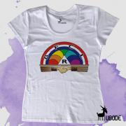 Camiseta Feminina - Ordem Internacional do Arco-Íris