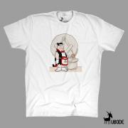 Camiseta Fred Flintstone - Vermelha