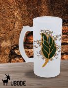 Caneca de Chopp -  Flor de Acácia