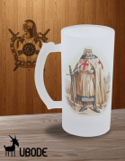 Caneca de Chopp -  Jacques DeMolay