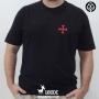 Camiseta Cruz Templária Pocket