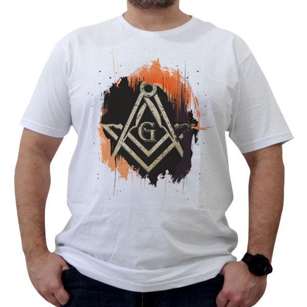 Bazar - Camiseta Esquadro e Compasso Art