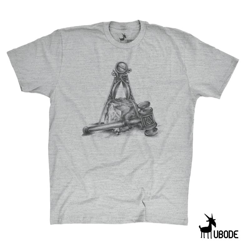 Bazar - Camiseta Martelo Pedra e Esquadro
