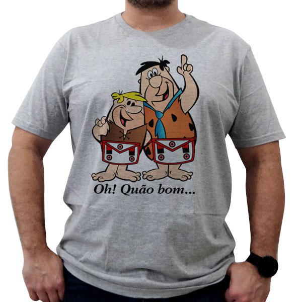 Bazar - Camiseta Oh! Quão Bom - Vermelho