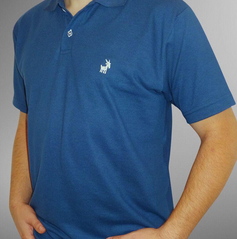 Camisa Pólo Azul Petróleo UBODE