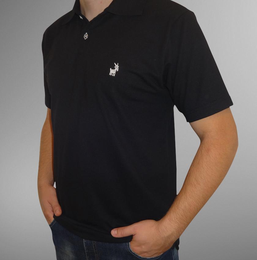 Camisa Pólo Preta UBODE