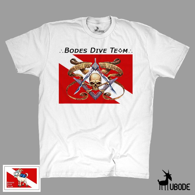 Camiseta Bodes Dive Team Caveira