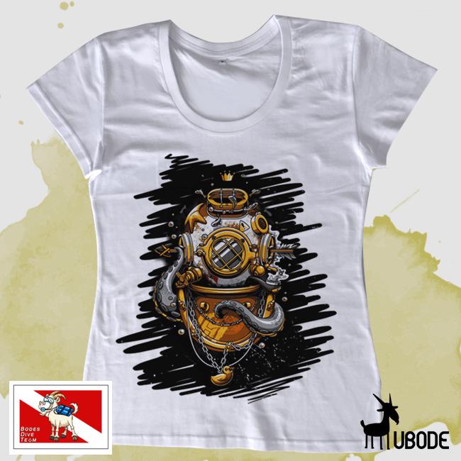Camiseta Bodes Escafândro Feminina