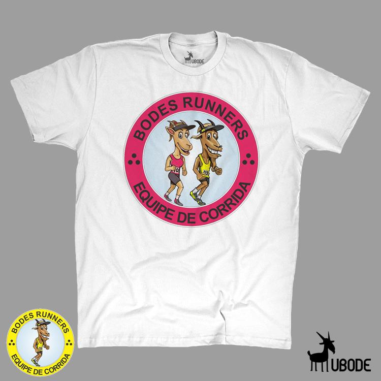 Camiseta Bodes Runner - Rosa