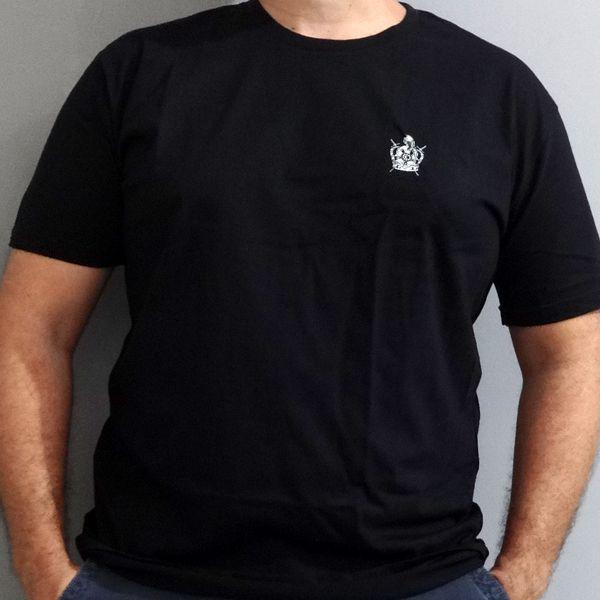 Camiseta Brasão DeMolay Preta