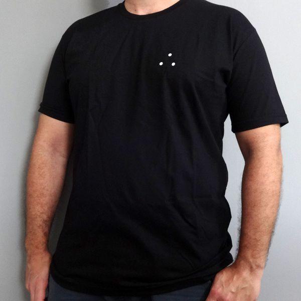 Camiseta Circulos Preta