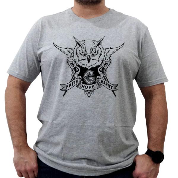 Camiseta Coruja GADU