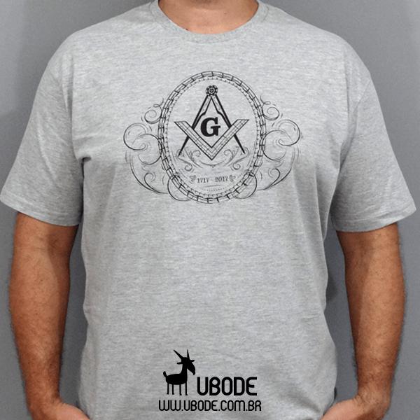 Camiseta Esquadro Compasso 300 Ornamentado