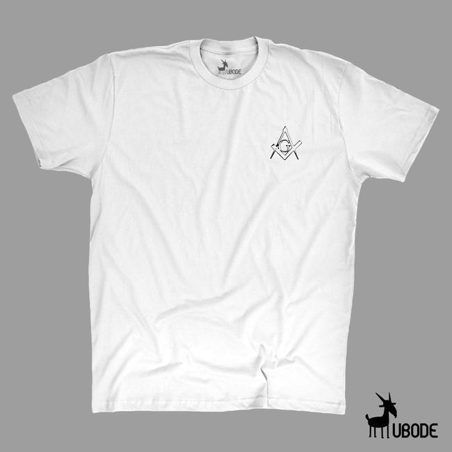 Camiseta Esquadro e Compasso impresso