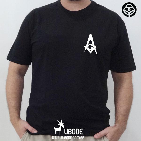Camiseta Esquadro e Compasso Old Style
