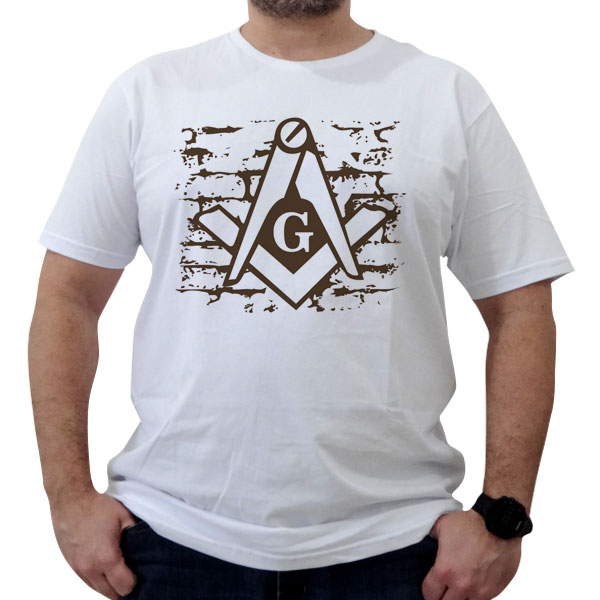Camiseta Esquadro e Compasso - the wall