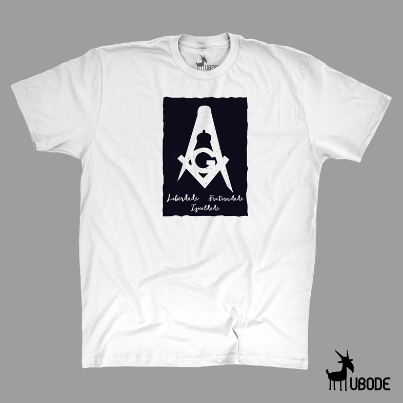 Camiseta esquadro liberdade-igualdade-fraternidade