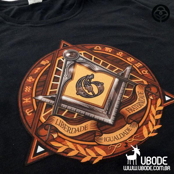 Camiseta Liberdade - Igualdade - Fraternidade
