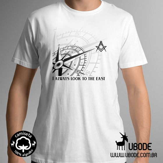 Camiseta look to the east