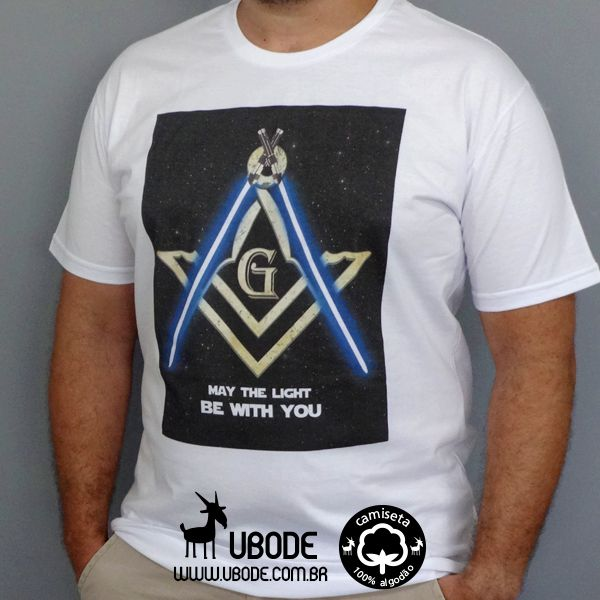 Camiseta May the Light be With You