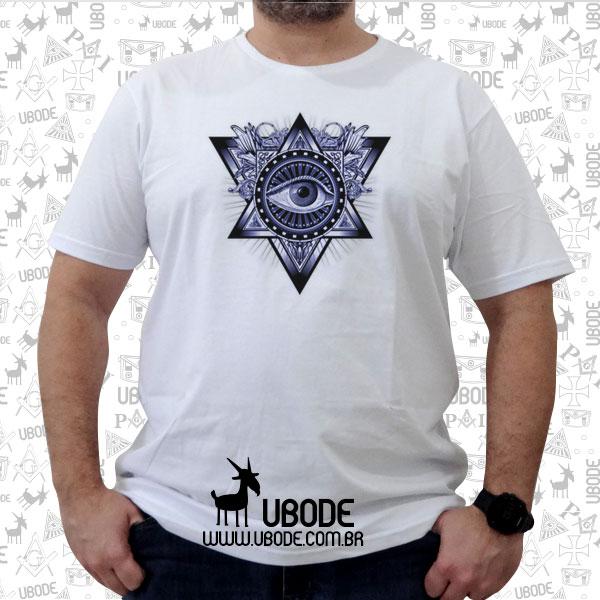 Camiseta O Olho que tudo vê master azul
