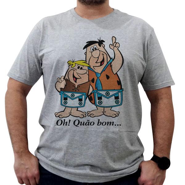 Camiseta Oh Quão Bom - Azul