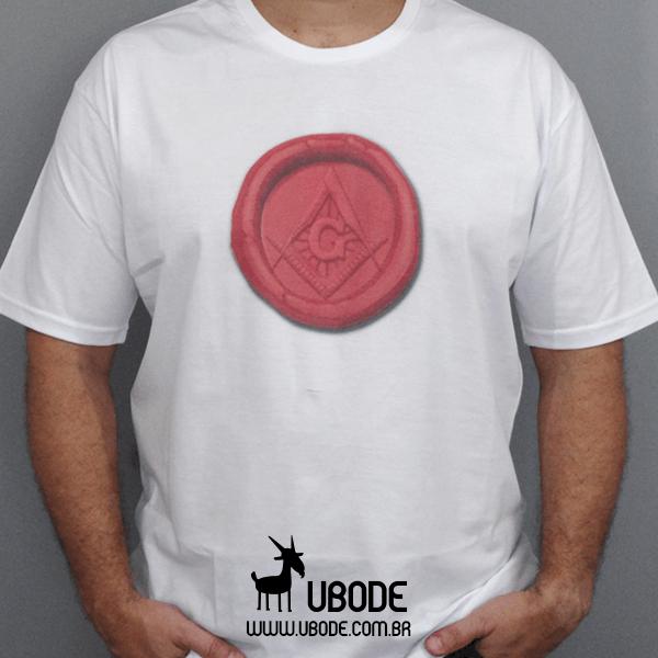 Camiseta Selo Maçom