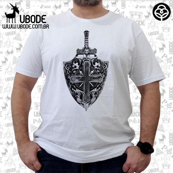 Camiseta Skull Shield