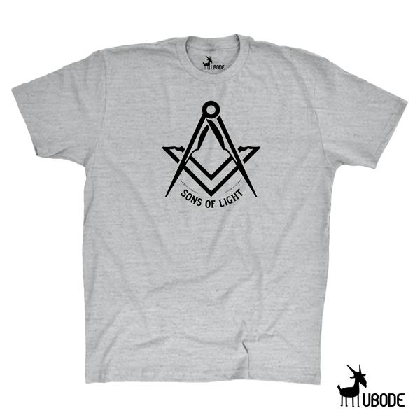 Camiseta Sons of light preta