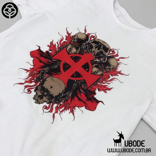 Camiseta Templar Cross Skull