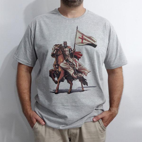 Camiseta Cavaleiro Templário