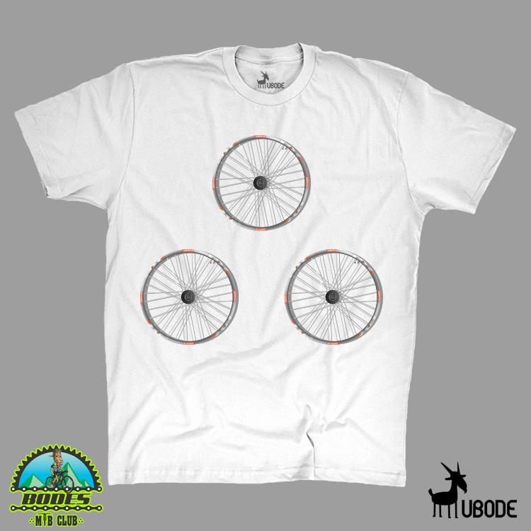 Camiseta  Três rodas