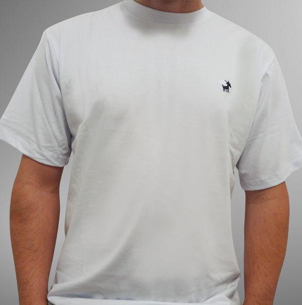 Camiseta UBODE bordada branca