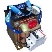 Auto Transformador Bivolt Conversor 127 e 220 V Metal 3500 W com Disjuntor de Proteção
