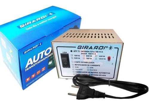 Transformador 127 E 220 / 100 V Abaixador De Tensão para Produto Japonês até 750 VA