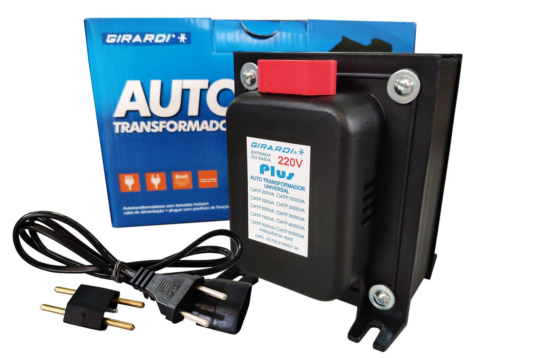 Autotransformador 3000 VA Plus 127 / 220 V e 220 / 127 V GIRARDI