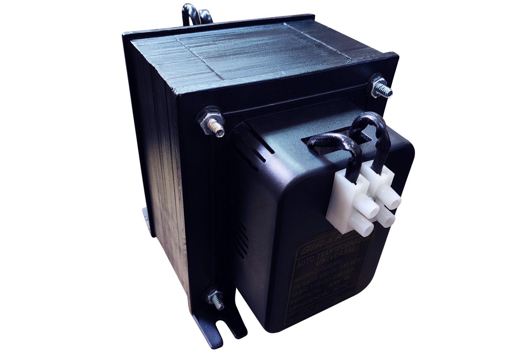 Autotransformador 5000 VA Profissional 127 / 220 V e 220 / 127 V GIRARDI