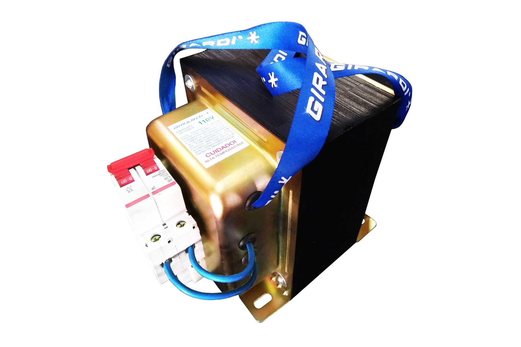 Autotransformador 7000 VA GIRARDI bivolt com Disjuntor de proteção