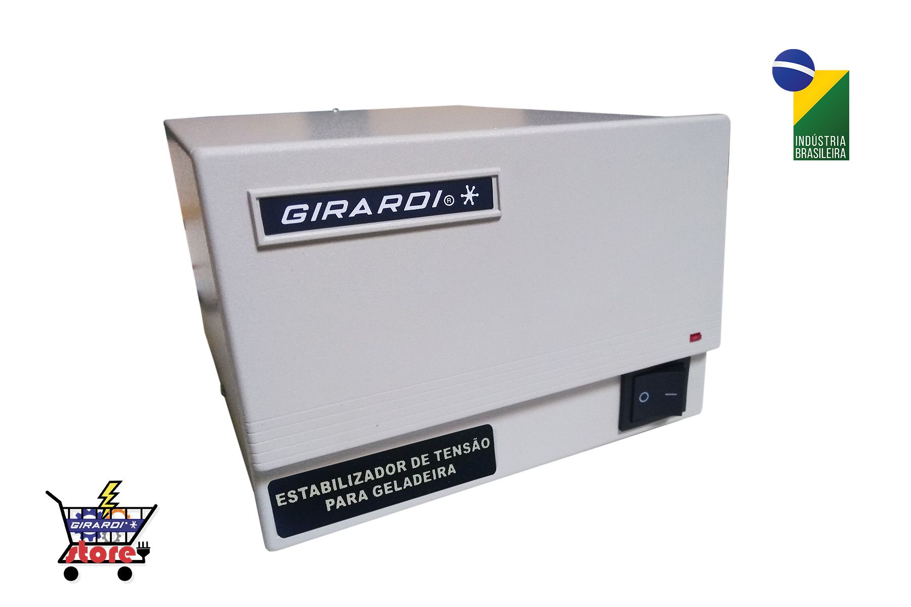 Protetor Eletrônico 1010 VA Girardi AM Bivolt / Saída 220 V