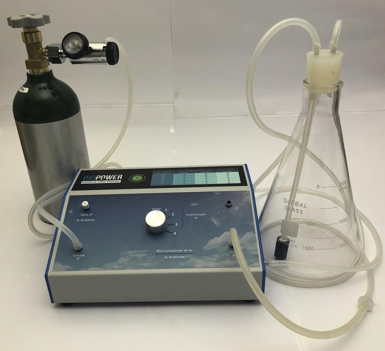 Gerador Profissional de Ozônio Medicinal