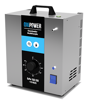 OXPW 8 - OZONIZADOR MULTIFUNÇÃO ( AR E ÁGUA) C/ TIMER 35 MIN + 12 volts