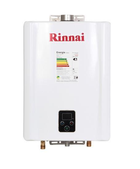 Aquecedor a Gás E17 - 17 litros - Rinnai