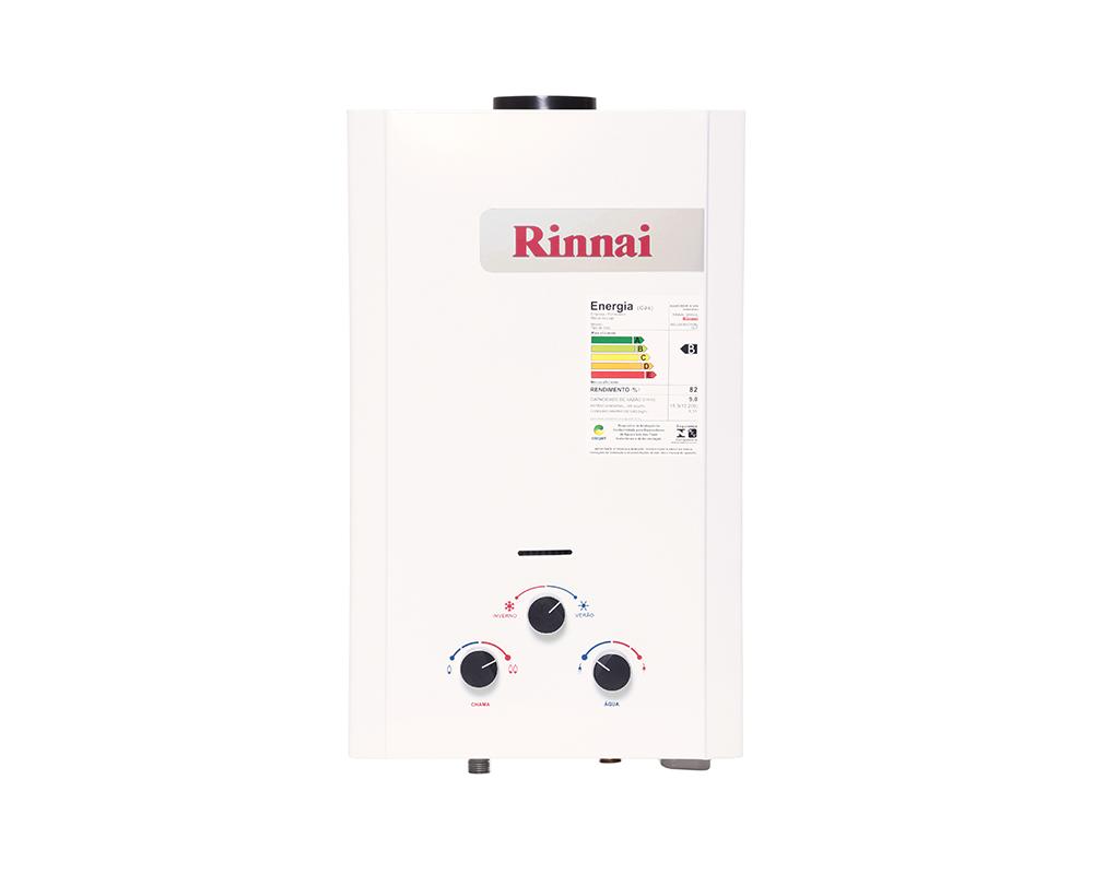 Aquecedor a Gás M09 - 9 litros - Rinnai