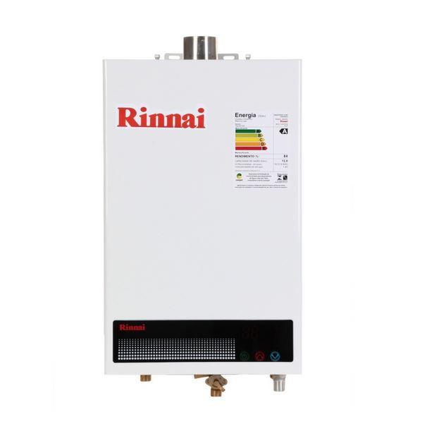 Aquecedor a Gás REU-1002 FEH - 12 litros - Rinnai