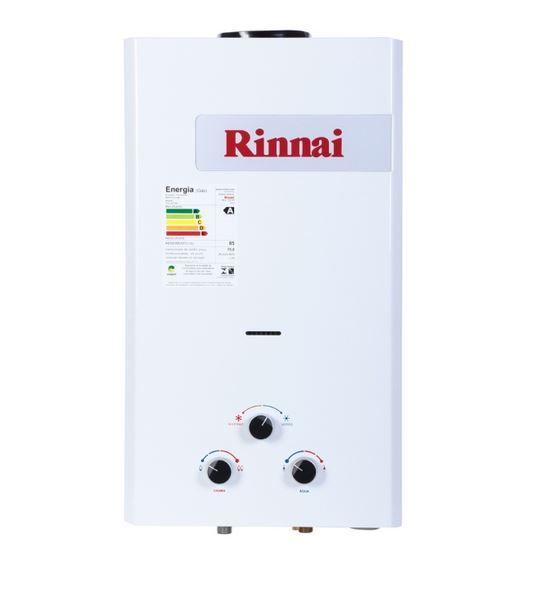 Aquecedor a Gás REU-158 BR - 15 litros - Rinnai