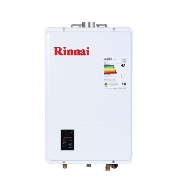 Aquecedor a Gás REU-1602 FEH - 22,5 litros - Rinnai
